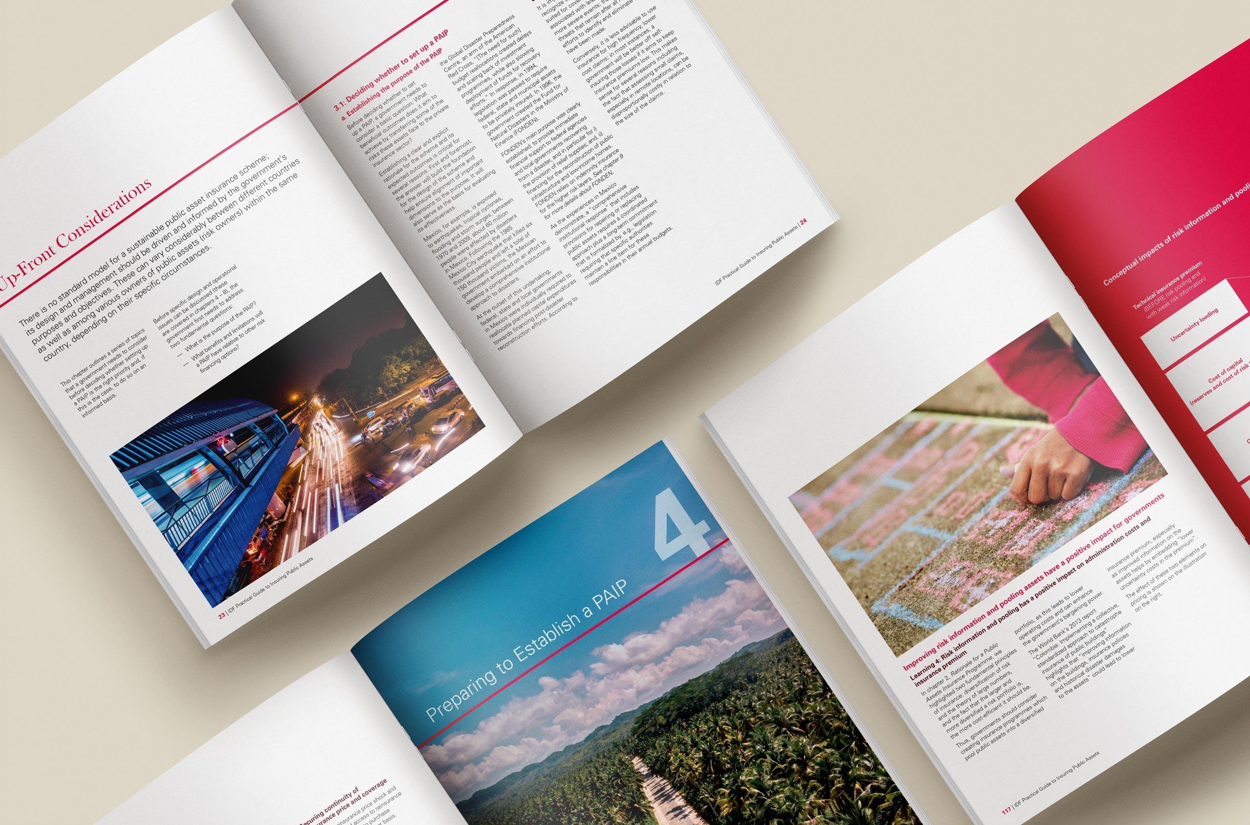Glendale Creative IDF Brochure Spreads