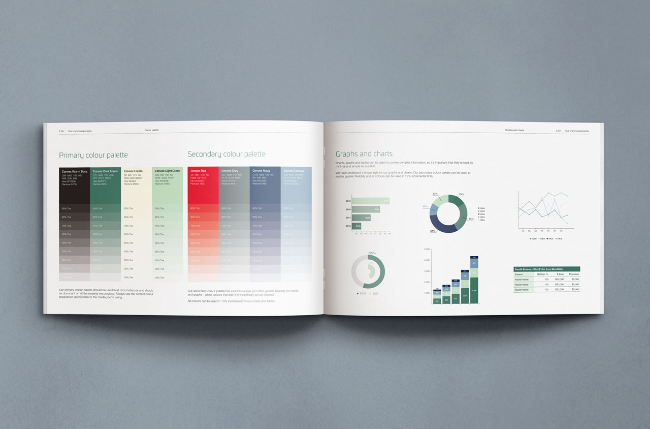 Glendale Creative Convex Brand Guidelines Layout