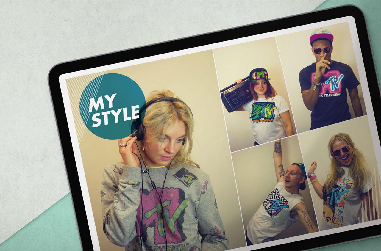 Glendale Creative MTV Fashion Lookbook