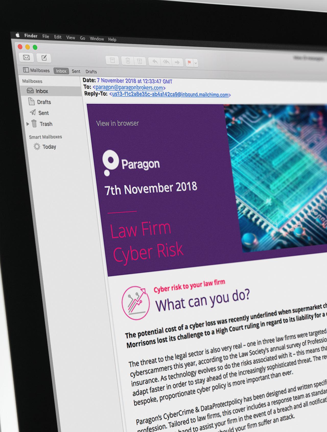 Glendale Creative Paragon HTML Email Design