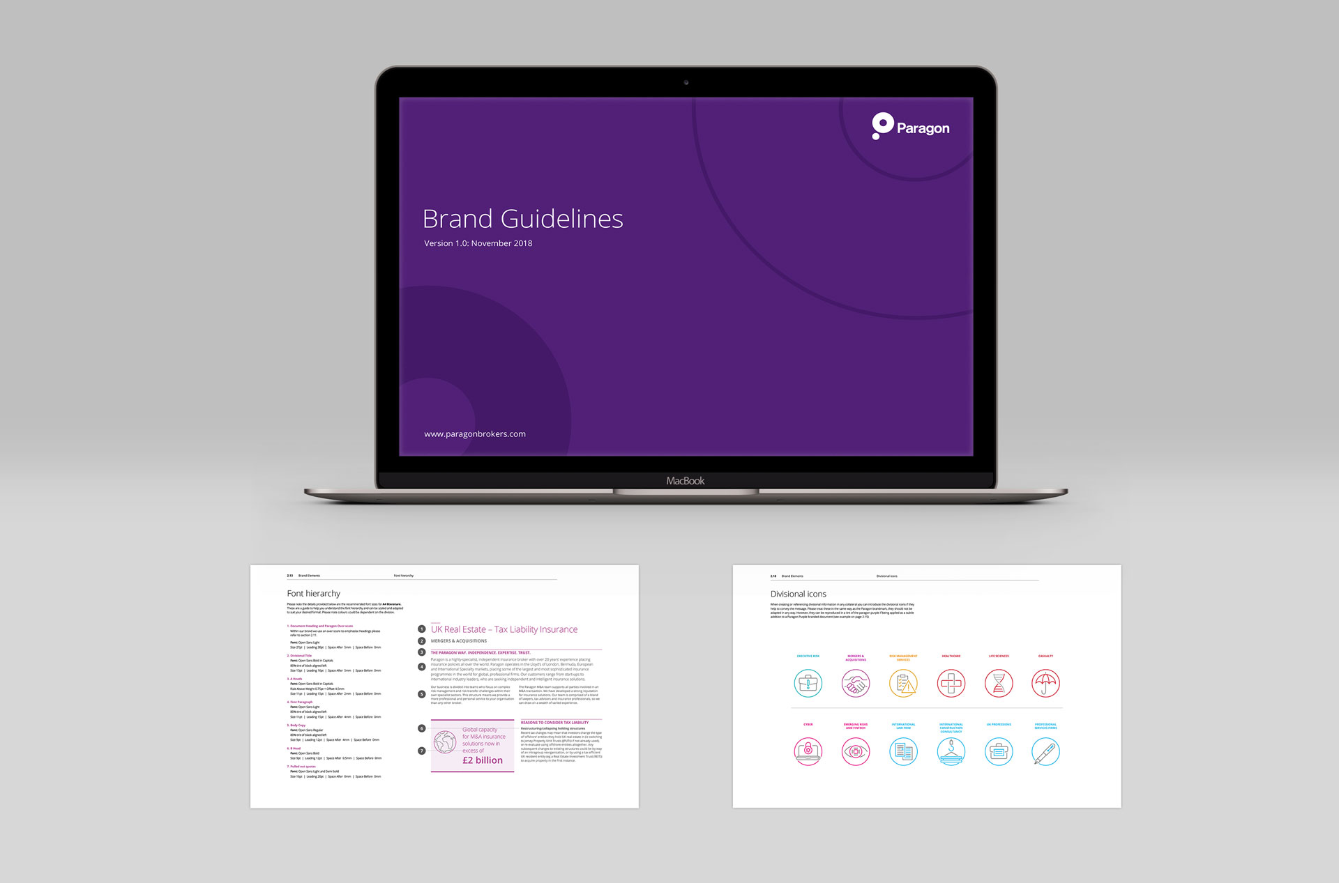 Glendale Creative Paragon Brand Guidelines