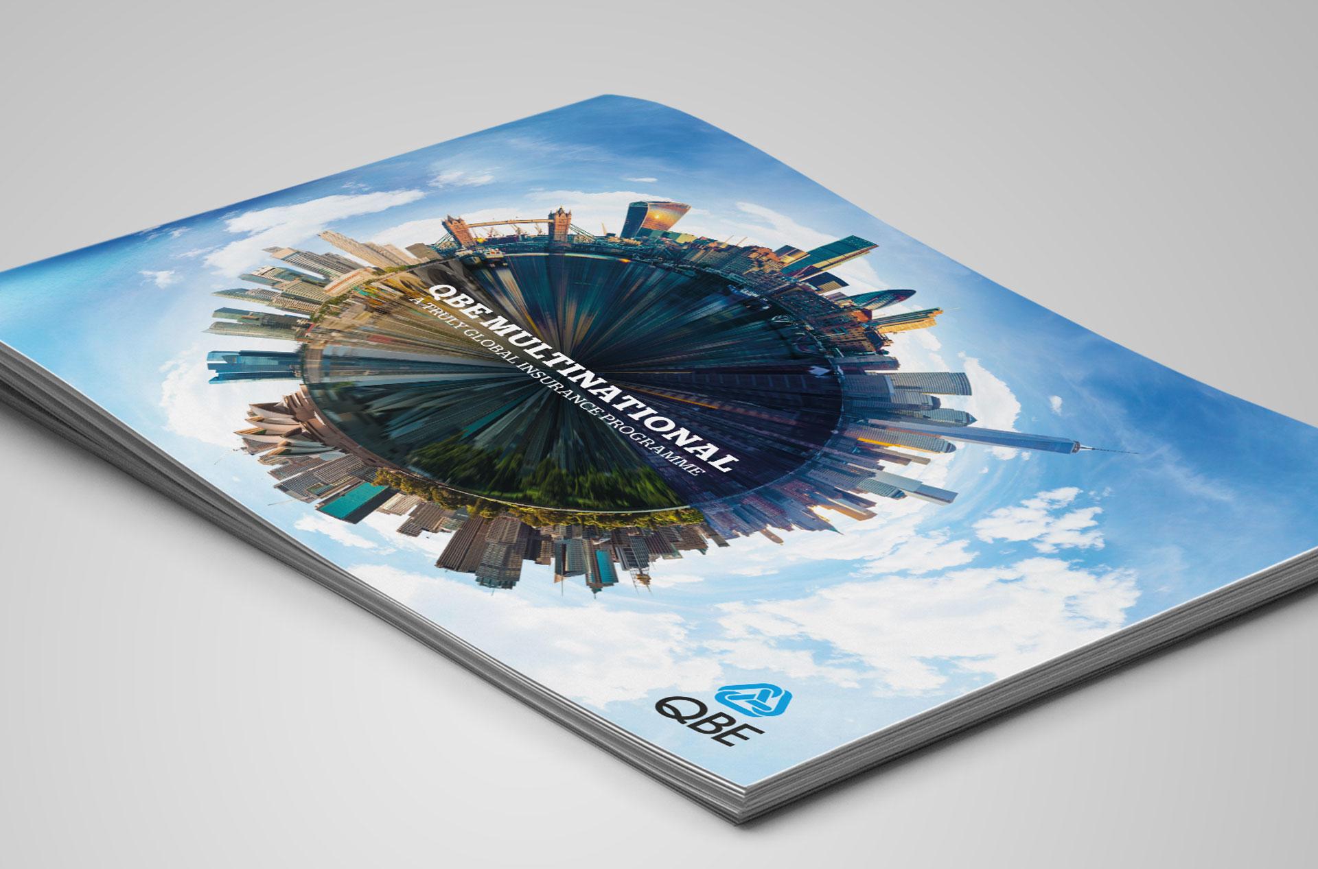 Glendale Creative QBE Multinational Brochure Design