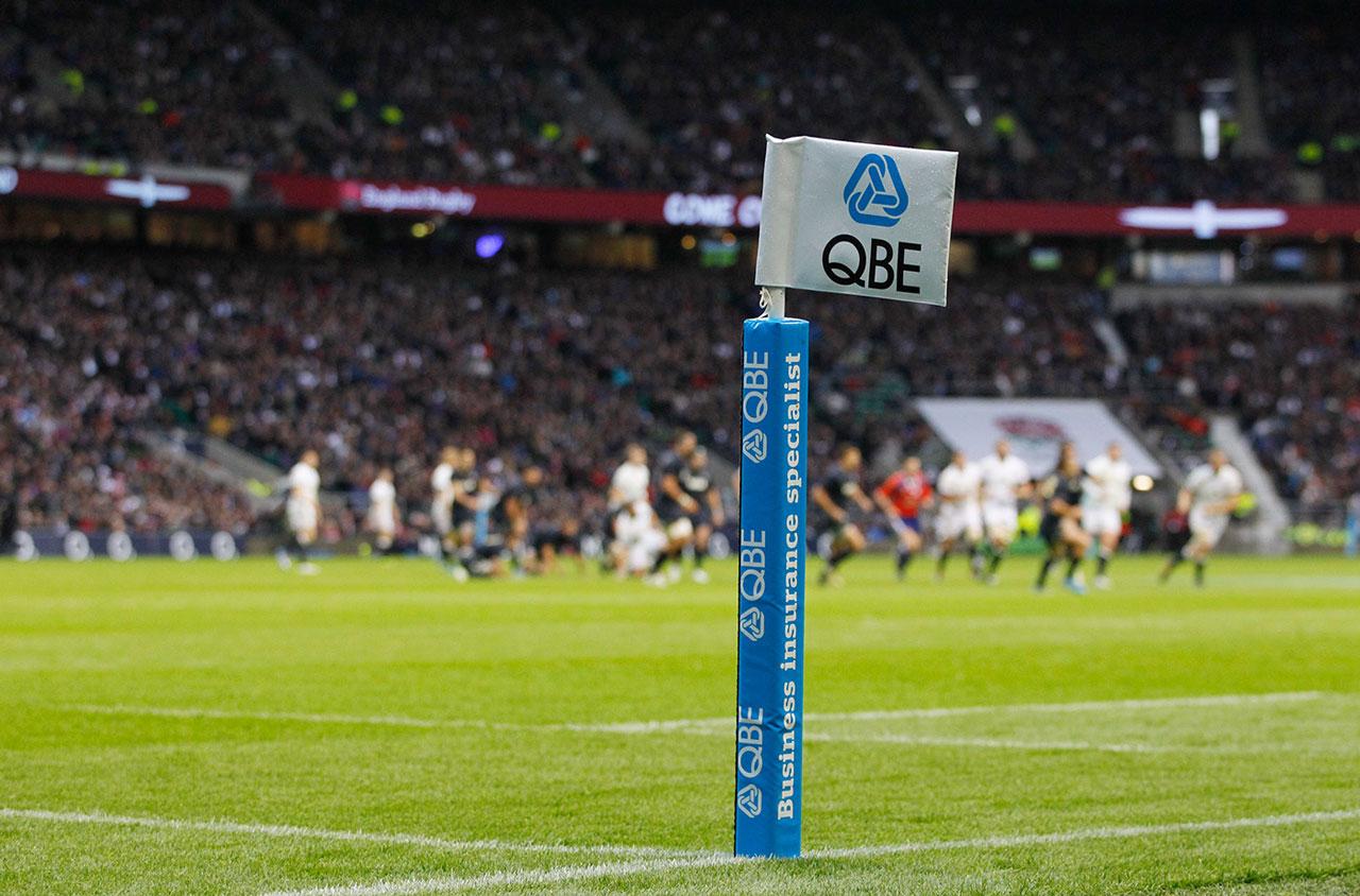 Glendale Creative QBE Internationals Rugby Corner Flags