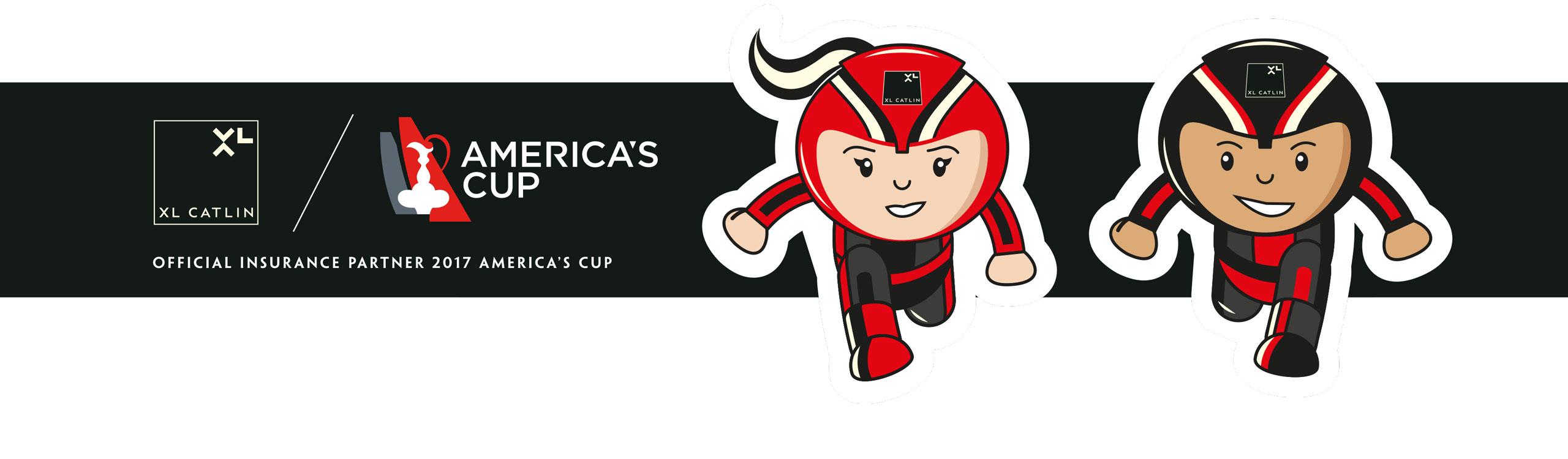 Glendale Creative Americas Cup Sticker Design