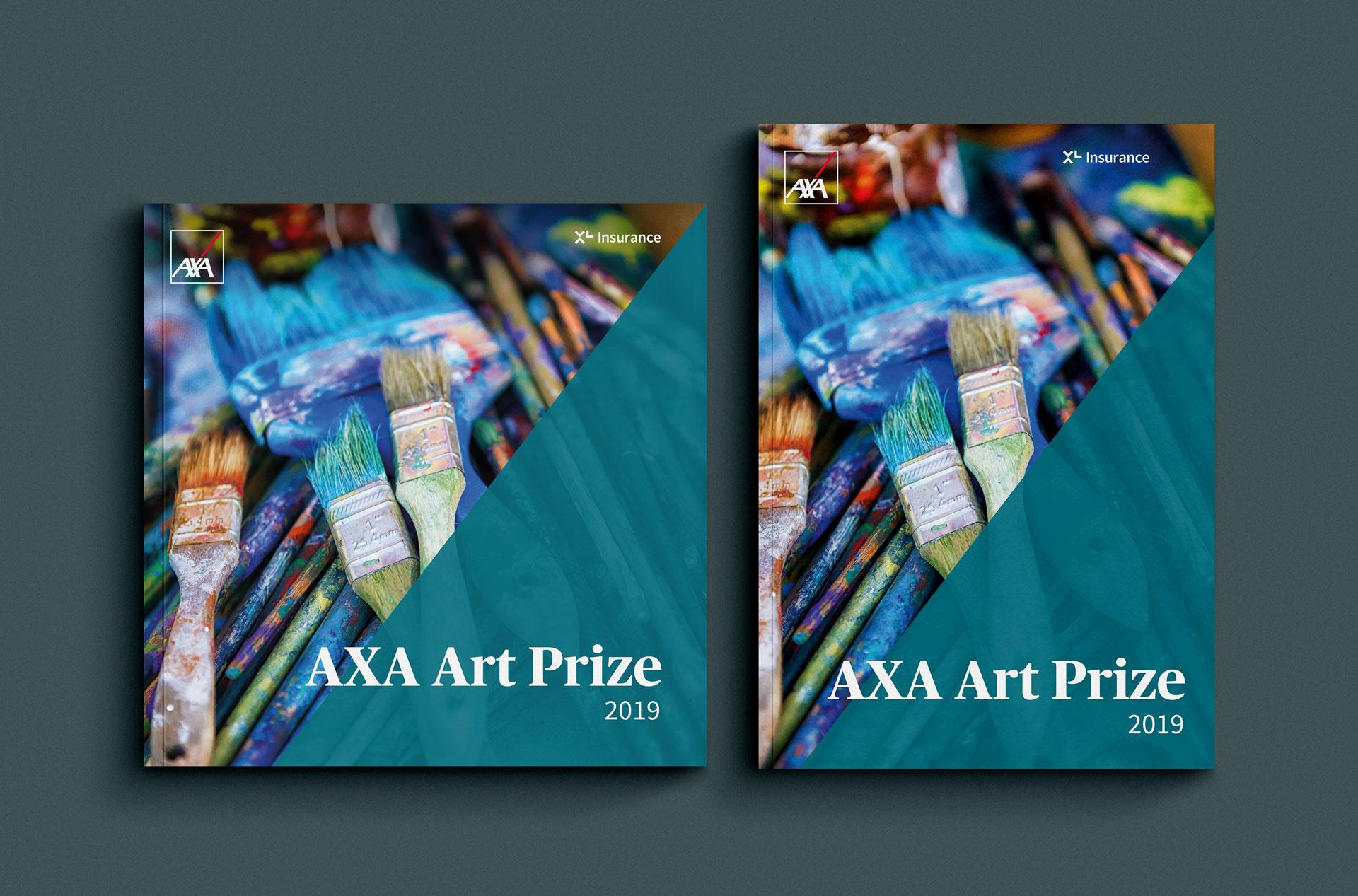 AXA XL Art Prize Brochure Design