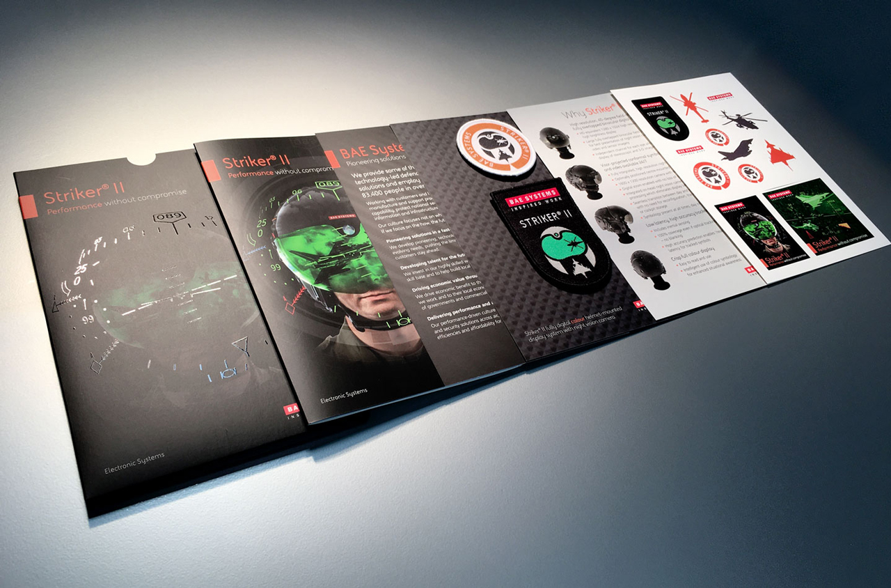 Glendale Creative BAE Striker Pack Contents