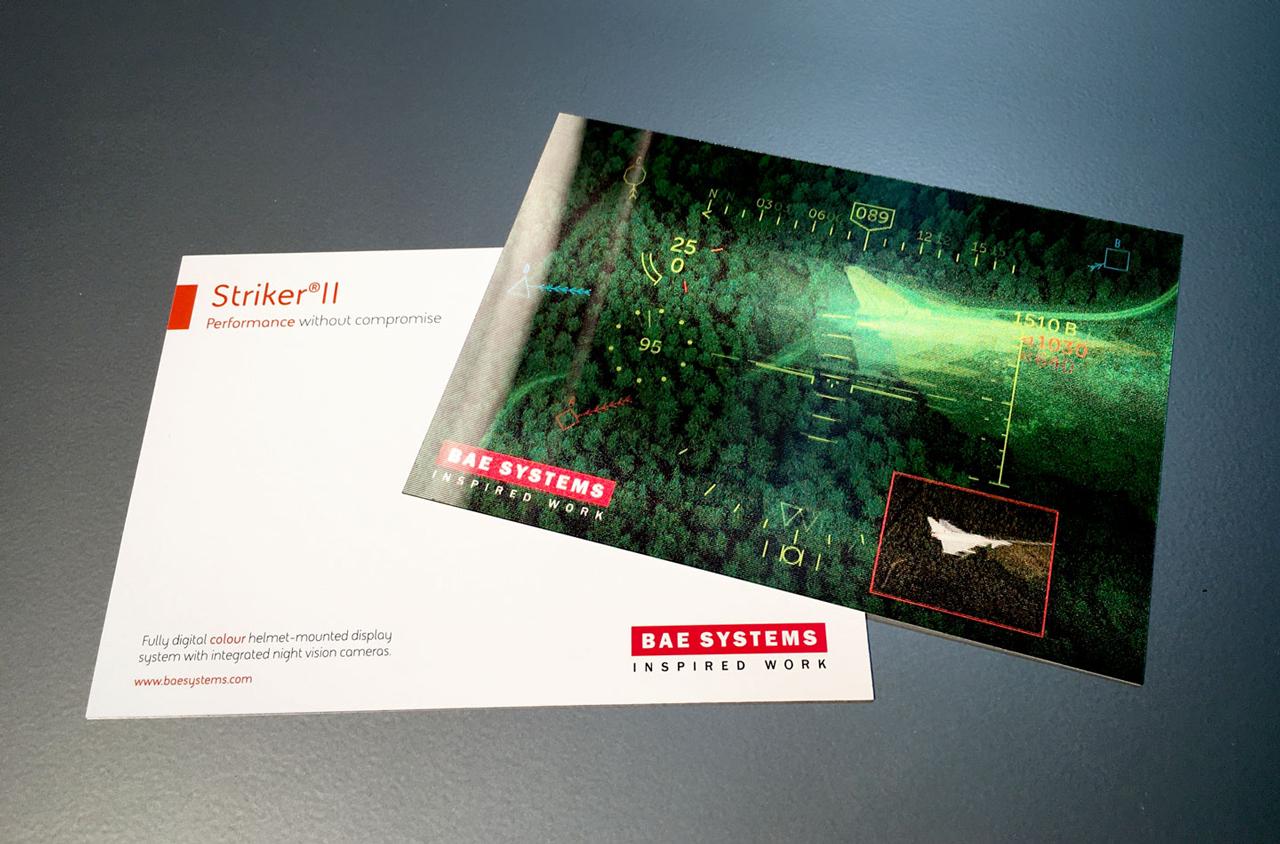 Glendale Creative BAE Striker Lenticular Card