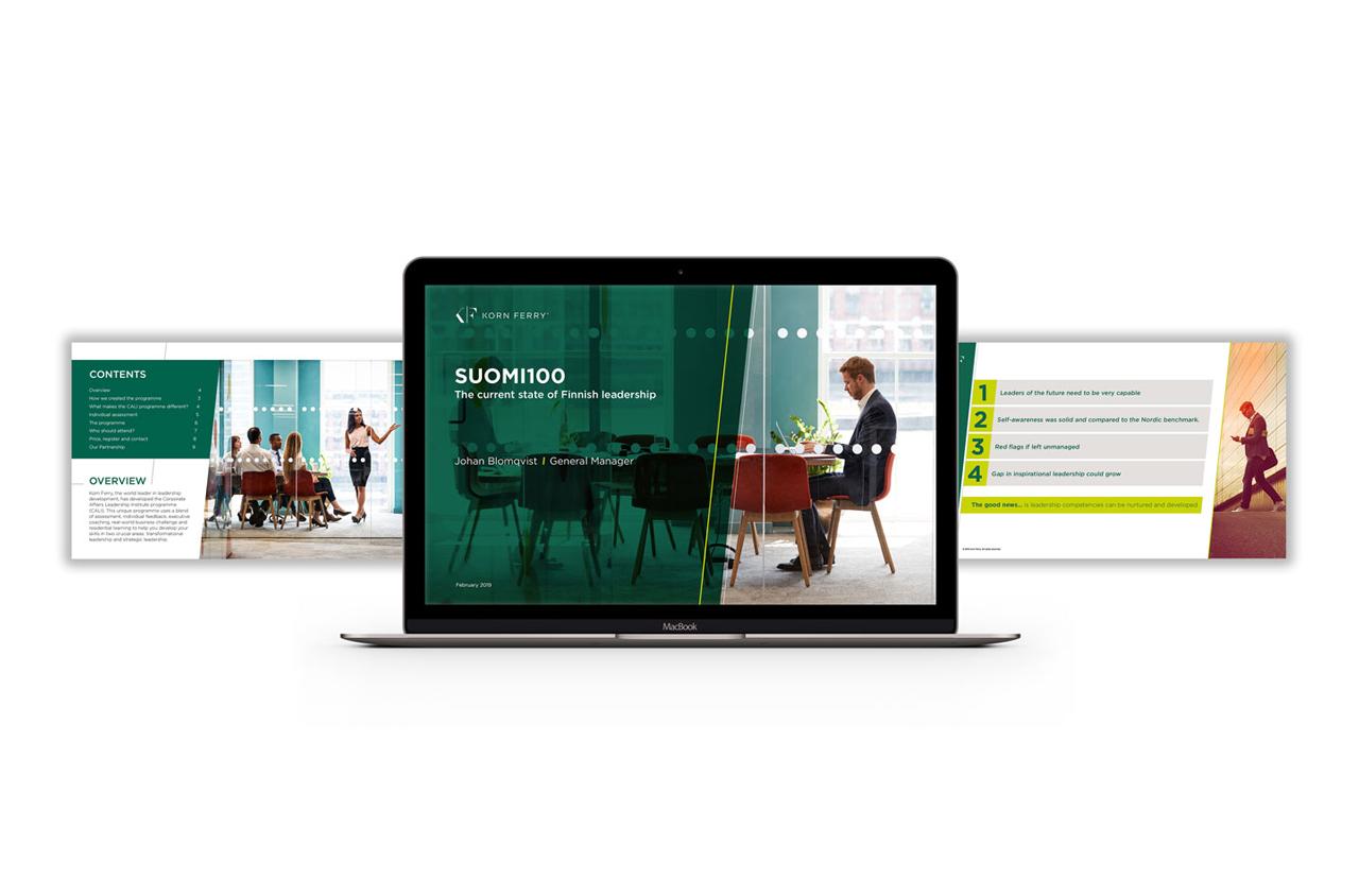 Glendale Creative Korn Ferry Presentation Design