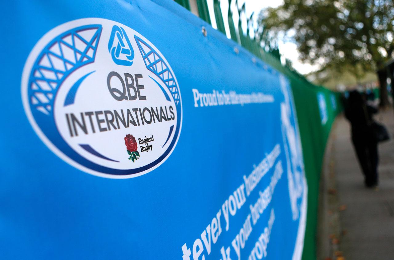 Glendale Creative QBE Internationals Rugby Twickenham Branding