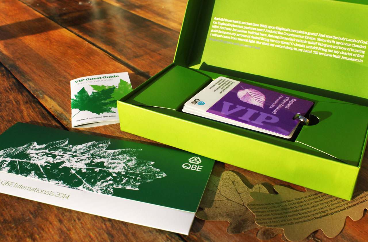 Glendale Creative QBE VIP Pack Packaging Design