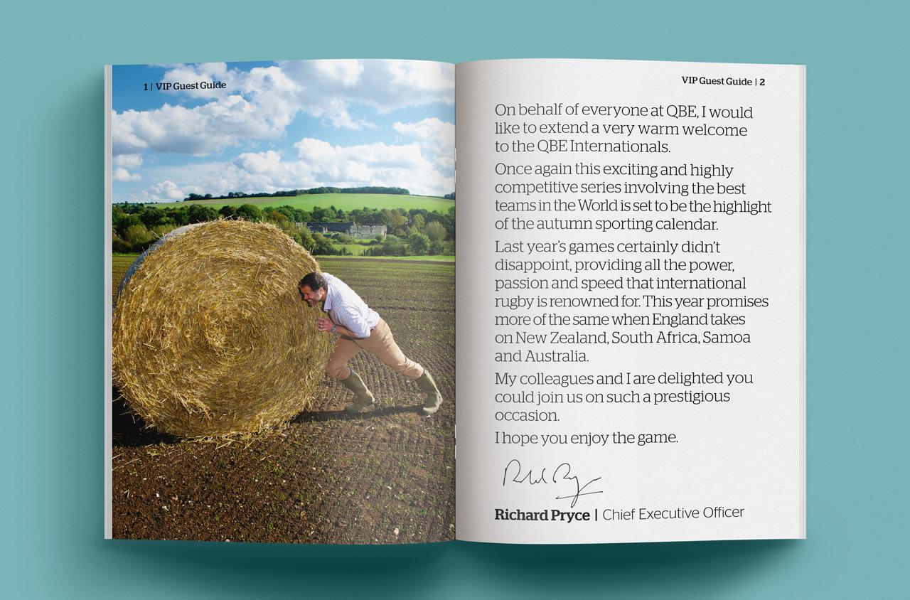 Glendale Creative QBE VIP Packs Brochure