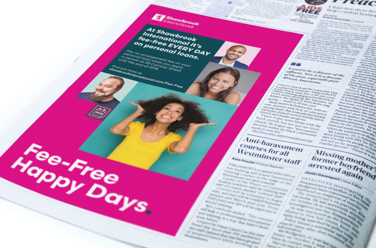 Glendale Creative Advertising Newspaper