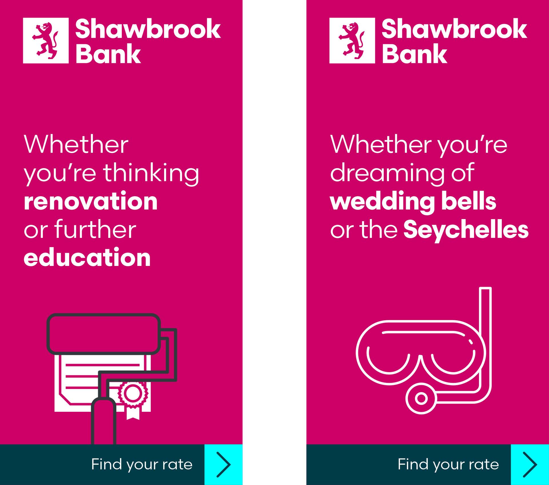 Glendale Creative Shawbrook Digital Advert Design