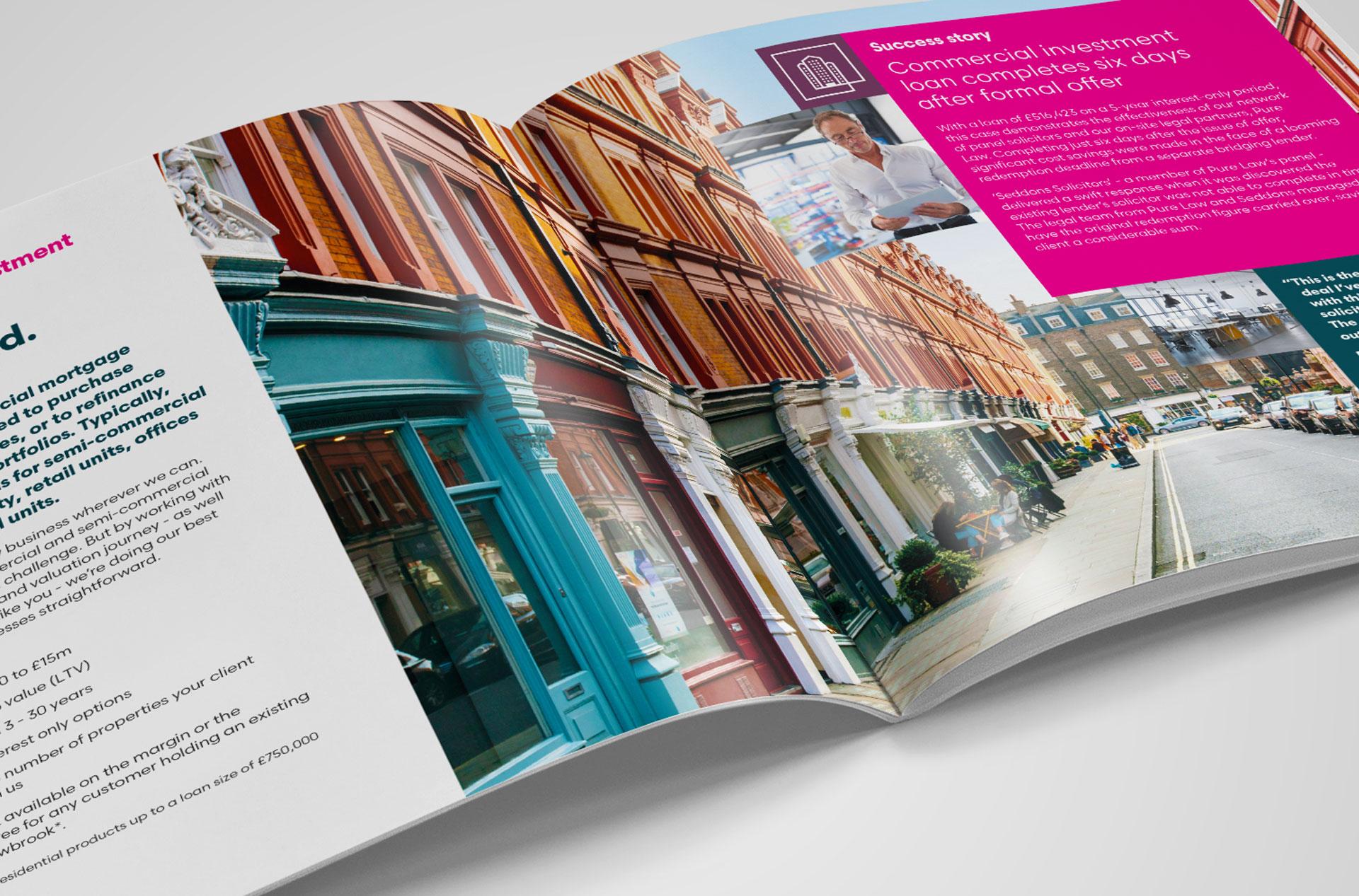 Glendale Creative Shawbrook Bank Brochure Design