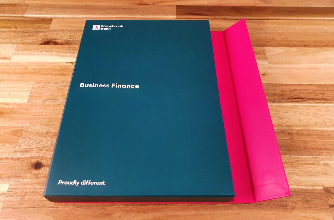 Glendale Creative Shawbrook Business Finance Packaging