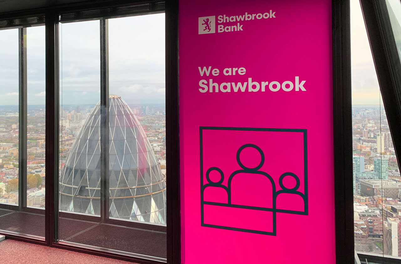 Glendale Shawbrook Broker Summit Window Graphics