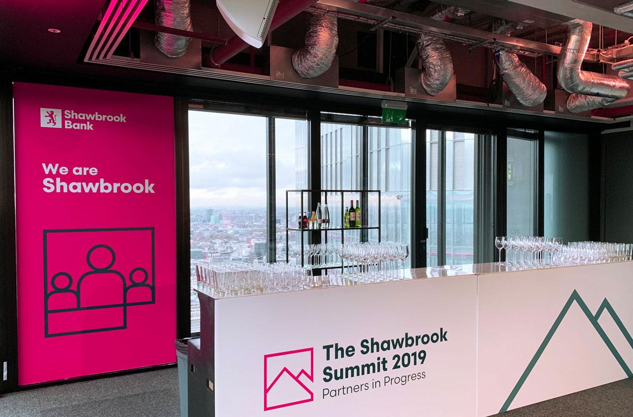 Glendale Shawbrook Broker Summit Bar Graphics