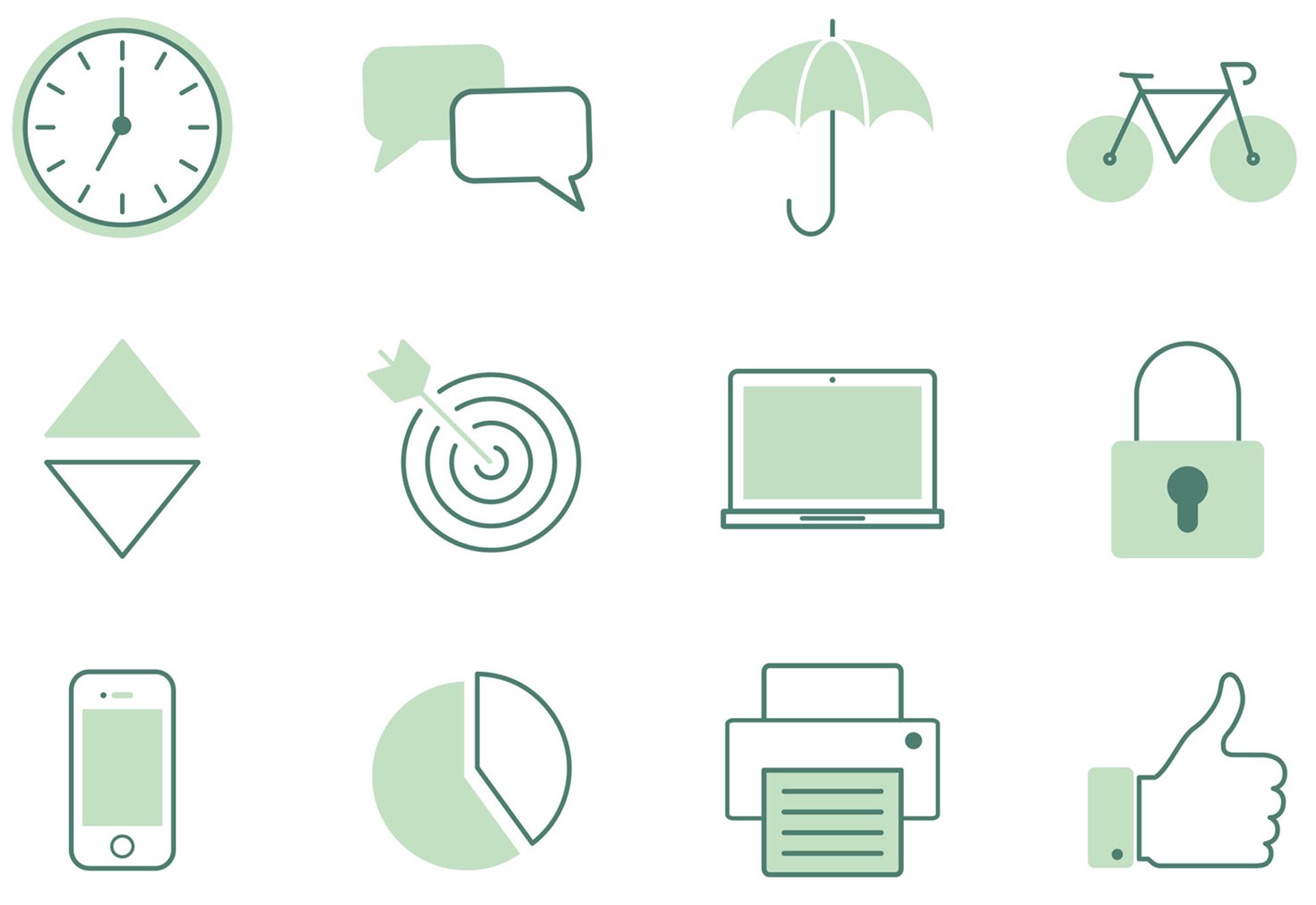 Glendale Creative Convex Icon Design